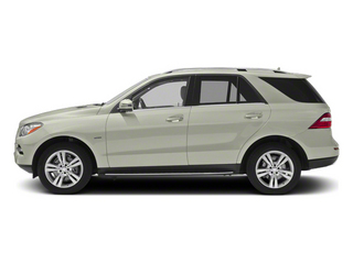 Iridium Silver Metallic 2013 Mercedes-Benz M-Class Pictures M-Class Utility 4D ML350 BlueTEC AWD photos side view