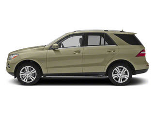 Pearl Beige Metallic 2013 Mercedes-Benz M-Class Pictures M-Class Utility 4D ML350 BlueTEC AWD photos side view