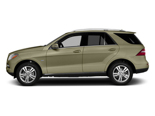Pearl Beige Metallic 2013 Mercedes-Benz M-Class Pictures M-Class Utility 4D ML350 2WD photos side view