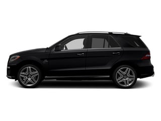 Black 2013 Mercedes-Benz M-Class Pictures M-Class Utility 4D ML63 AMG AWD photos side view