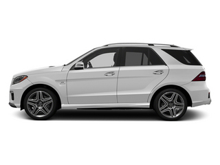 Arctic White 2013 Mercedes-Benz M-Class Pictures M-Class Utility 4D ML63 AMG AWD photos side view