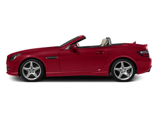 Mars Red 2013 Mercedes-Benz SLK-Class Pictures SLK-Class Roadster 2D SLK350 photos side view