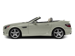 Iridium Silver Metallic 2013 Mercedes-Benz SLK-Class Pictures SLK-Class Roadster 2D SLK350 photos side view