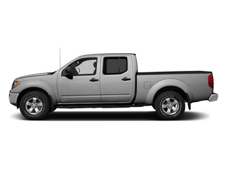 Brilliant Silver 2013 Nissan Frontier Pictures Frontier Crew Cab S 4WD photos side view
