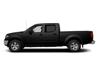 Super Black 2013 Nissan Frontier Pictures Frontier Crew Cab S 4WD photos side view