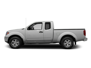 Brilliant Silver 2013 Nissan Frontier Pictures Frontier King Cab SV 2WD photos side view