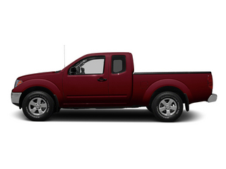Cayenne Red 2013 Nissan Frontier Pictures Frontier King Cab SV 2WD photos side view