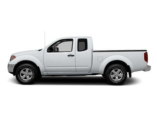 Glacier White 2013 Nissan Frontier Pictures Frontier King Cab SV 2WD photos side view