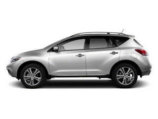 Brilliant Silver 2013 Nissan Murano Pictures Murano Utility 4D SL 2WD V6 photos side view