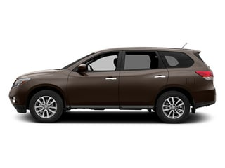 Mocha Stone 2013 Nissan Pathfinder Pictures Pathfinder Utility 4D SL 2WD photos side view