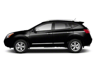Super Black 2013 Nissan Rogue Pictures Rogue Utility 4D S 2WD I4 photos side view