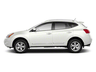 Pearl White 2013 Nissan Rogue Pictures Rogue Utility 4D S 2WD I4 photos side view