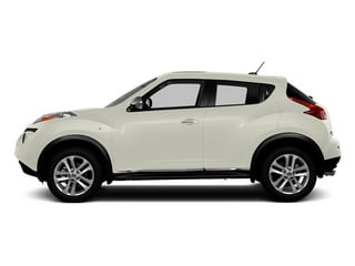 Pearl White 2013 Nissan JUKE Pictures JUKE Utlity 4D SL 2WD I4 Turbo photos side view