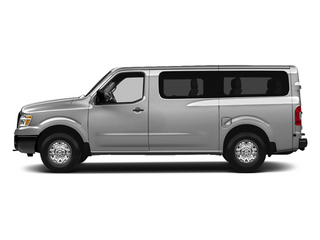 Brilliant Silver Metallic 2013 Nissan NVP Pictures NVP Passenger Van SV photos side view