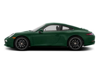 Porsche Racing Green Metallic 2013 Porsche 911 Pictures 911 Coupe 2D H6 photos side view