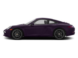 Amethyst Metallic 2013 Porsche 911 Pictures 911 Coupe 2D H6 photos side view
