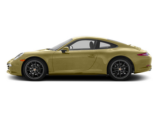 Lime Gold Metallic 2013 Porsche 911 Pictures 911 Coupe 2D H6 photos side view