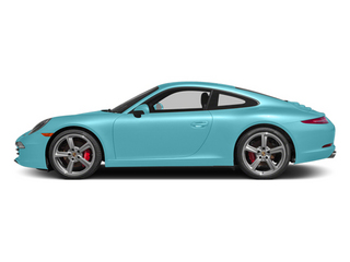 Ipanema Blue Metallic 2013 Porsche 911 Pictures 911 Coupe 2D Turbo AWD H6 photos side view