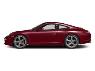 Amaranth Red Metallic 2013 Porsche 911 Pictures 911 Coupe 2D S H6 photos side view