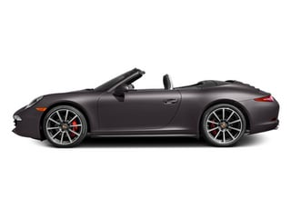 Anthracite Brown Metallic 2013 Porsche 911 Pictures 911 Cabriolet 2D 4S AWD H6 photos side view