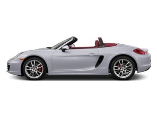 White 2013 Porsche Boxster Pictures Boxster Roadster 2D S photos side view