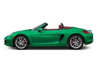 Emerald Green Metallic 2013 Porsche Boxster Pictures Boxster Roadster 2D S photos side view