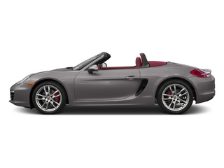 Agate Grey Metallic 2013 Porsche Boxster Pictures Boxster Roadster 2D S photos side view