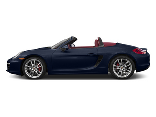 Dark Blue Metallic 2013 Porsche Boxster Pictures Boxster Roadster 2D S photos side view