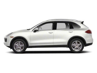 White 2013 Porsche Cayenne Pictures Cayenne Utility 4D AWD (V6) photos side view