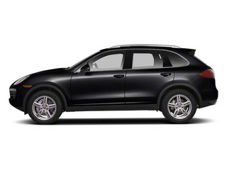 Black 2013 Porsche Cayenne Pictures Cayenne Utility 4D AWD (V6) photos side view