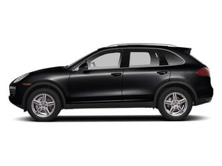 Black 2013 Porsche Cayenne Pictures Cayenne Utility 4D S AWD (V8) photos side view