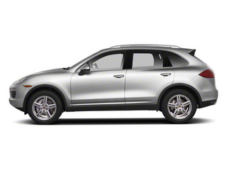 Classic Silver Metallic 2013 Porsche Cayenne Pictures Cayenne Utility 4D AWD (V6) photos side view
