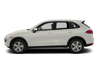 White 2013 Porsche Cayenne Pictures Cayenne Utility 4D Diesel AWD (V6) photos side view