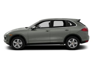 Classic Silver Metallic 2013 Porsche Cayenne Pictures Cayenne Utility 4D Diesel AWD (V6) photos side view