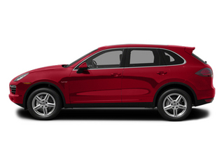 Carmine Red 2013 Porsche Cayenne Pictures Cayenne Utility 4D S Hybrid AWD (V6) photos side view