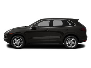 Jet Black Metallic 2013 Porsche Cayenne Pictures Cayenne Utility 4D S Hybrid AWD (V6) photos side view