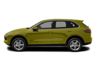Peridot Metallic 2013 Porsche Cayenne Pictures Cayenne Utility 4D S Hybrid AWD (V6) photos side view