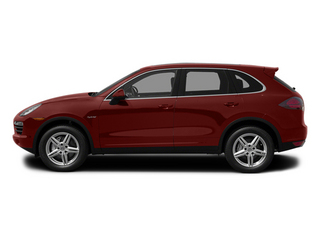 Auburn Metallic 2013 Porsche Cayenne Pictures Cayenne Utility 4D S Hybrid AWD (V6) photos side view
