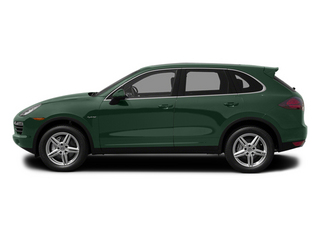 Jet Green Metallic 2013 Porsche Cayenne Pictures Cayenne Utility 4D S Hybrid AWD (V6) photos side view