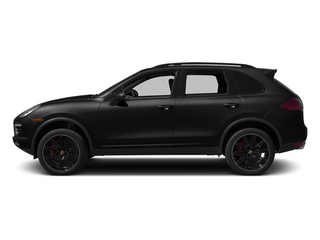 Black 2013 Porsche Cayenne Pictures Cayenne Utility 4D Turbo AWD (V8) photos side view