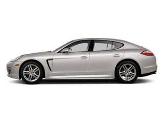 Platinum Silver Metallic 2013 Porsche Panamera Pictures Panamera Hatchback 4D GTS AWD photos side view