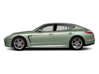 Crystal Green Metallic 2013 Porsche Panamera Pictures Panamera Hatchback 4D GTS AWD photos side view