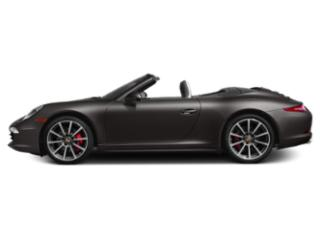 Anthracite Brown Metallic 2013 Porsche 911 Pictures 911 Cabriolet 2D 4 AWD H6 photos side view