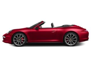 Guards Red 2013 Porsche 911 Pictures 911 Cabriolet 2D 4 AWD H6 photos side view