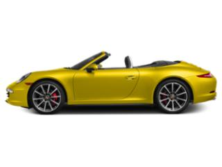 Racing Yellow 2013 Porsche 911 Pictures 911 Cabriolet 2D 4 AWD H6 photos side view