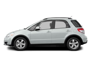 Pearl White 2013 Suzuki SX4 Pictures SX4 Hatchback 5D AWD I4 photos side view