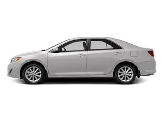 Super White 2013 Toyota Camry Pictures Camry Sedan 4D XLE V6 photos side view
