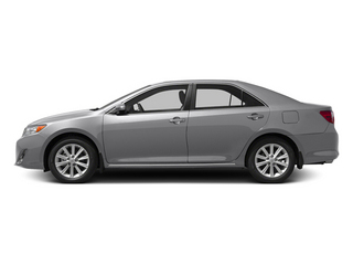 Classic Silver Metallic 2013 Toyota Camry Pictures Camry Sedan 4D XLE V6 photos side view