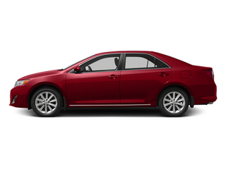Barcelona Red Metallic 2013 Toyota Camry Pictures Camry Sedan 4D XLE V6 photos side view