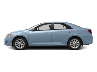 Clearwater Blue Metallic 2013 Toyota Camry Pictures Camry Sedan 4D XLE V6 photos side view